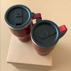 Other - 2 cups with cigarette adapter